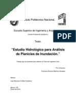 5estudio Hidrologico Para Análisis Planicies de Inundaciones