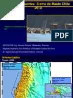 Daños en Puentes Del Sismo de Chile