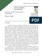 Artigo Democracia, Desenvolvimento Humano e Direitos Humanos (O'Donnell)