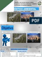 Grupo N 01 Exposiciòn N 01 Diagnóstico Ambiental de La Ciudad de Tingo Marìa y La Uniòn MyCC X 11-05-2018 2