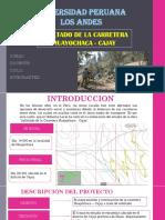 Asfaltado de La Carretera Cajahuay (1)