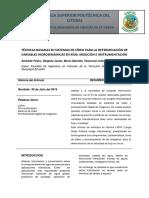 TÉCNICAS BASADAS EN SISTEMAS DE VÍDEO PARA LA DETERMINACIÓN DE VARIABLES HIDRODINÁMICAS EN RÍOS.docx