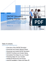ONTAP-Sim-Getting Started Quick v10