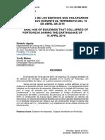 Analisis de Edifcios Terremoto Ecuador
