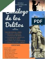 ADA 5 - Catalogo de Delitos