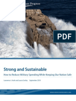 Strong and Sustainable
