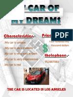 Mi Carro de Mis Sueños (1)