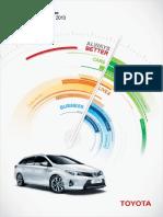 2013 Toyota Europe Sustainability Report Tcm-3033-214787