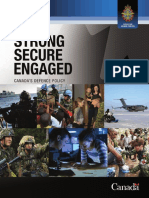 Canada Defence Policy Report