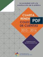 Ceosc Rendicion de Cuentas 2015-2016