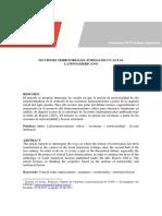 FICCIONES TERRITORIALES. FORMAS DE UN ALTAS LATINOAMERICANO