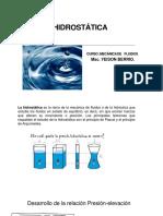 Diapositiva de Hidrostatica