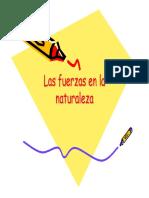 Las Fuerzas en La Naturaleza - Parte I