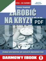 Zarobić na kryzysie - Tomasz Szopiński