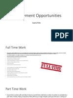 employment powerpoint