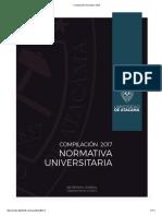 Normativa Universidad de Atacama 2017