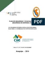 Plan de Seguridad y Evacuacion de Seguridad en Defensa Civil