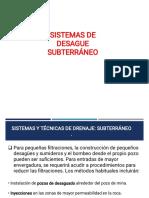 02. Sistemas de Desague Subterraneo