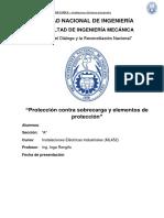 Monografia Proteccion Contra Sobrecarga