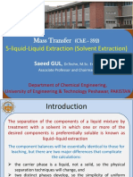 5 Liquid Liquid Extraction Solvent Extraction