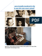 Six black girls were brutally murdered in the early '70s. Why was this case never solved.docx