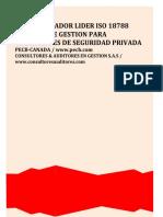 IMPLEMENTADOR LIDER ISO18788