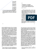 Sociogenesis y Sociologia. Yocelevsky 1