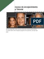 Crear El Proceso de Envejecimiento Photoshop Tutorial
