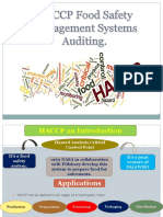 3 Auditing Haccp
