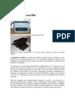 Máquina de escribir.docx