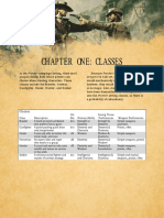 Frontier Dd Class Table