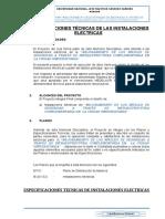 Especificaciones Técnicas de Cerco Perimétrico-electricas