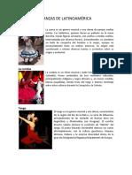 Danzas de Latinoamérica