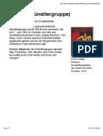 Brucke (Kunstlergruppe) - Wikipedia - Kuniwalde Rudimundi