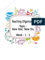Teaching Organiser 1 3