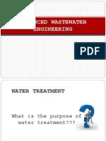 Advanced Wastewater Engineering