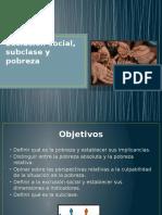 12 Exclusión Social, Subclase y Pobreza