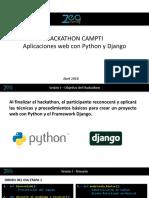 1.- Python Django