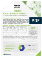 Why the Battle for Truth Is Also the Employer Advantage