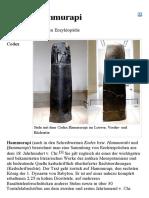 Codex Hammurapi – Wikipedia