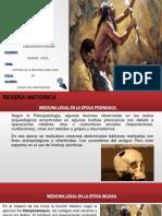 Historia de La Medicina Legal Peru