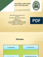 Presentacion Expresion y Maceracion