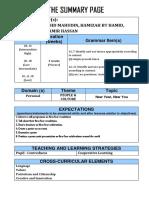Summary Page 1-3