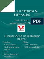 Hak Asasi Manusia Dan Hiv Aids