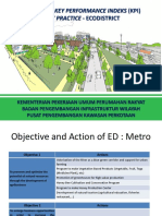 Dokumen Ringkasan Key Perfomance Index (KPI) Best Practice Pengembangan Kawasan Perkotaan