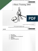 Karcher Pressure Washer Basic Troubleshooting Training 2005