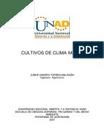 Modulo Cultivos de Clima Medio
