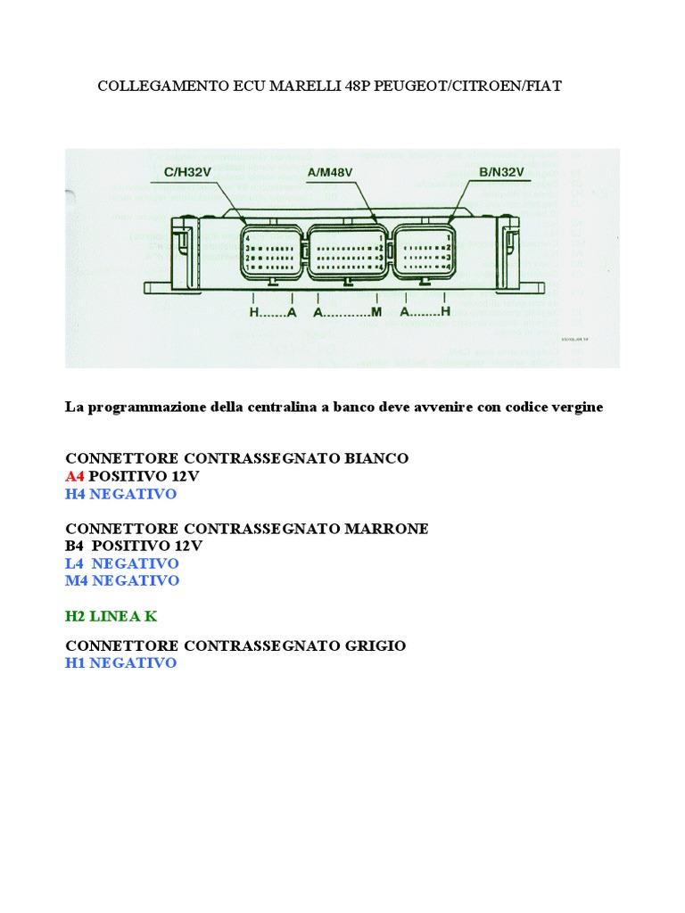 74 Ecu Pin Diagram Opinions About Wiring F350 7 Rv Out 48p Fiat Pdf Rh Scribd Com Trailer