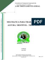 APOSTLA TRABALHO EM DESNÍVEL - 1 EDIÇÃO - MAE.doc
