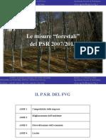 La Regione FVG e gli strumenti normativi a sostegno del settore forestale